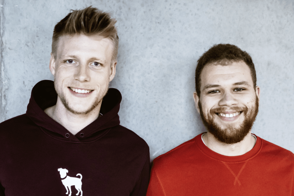 Lukas Tenge und  Tay Schmedtmann
